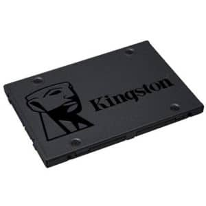 "Kingston A400 480GB Internal Solid State Drive – 480GB Storage, 2.5"" Form Factor, SATA III 6Gb/s, Read Speed@500Mbps, Write Speed@450Mbps - SA400S37/480G $44.99"
