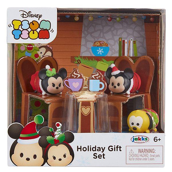 Tsum Tsum Exclusive Holiday Mickey & Minnie Gift Set Playset $3.59