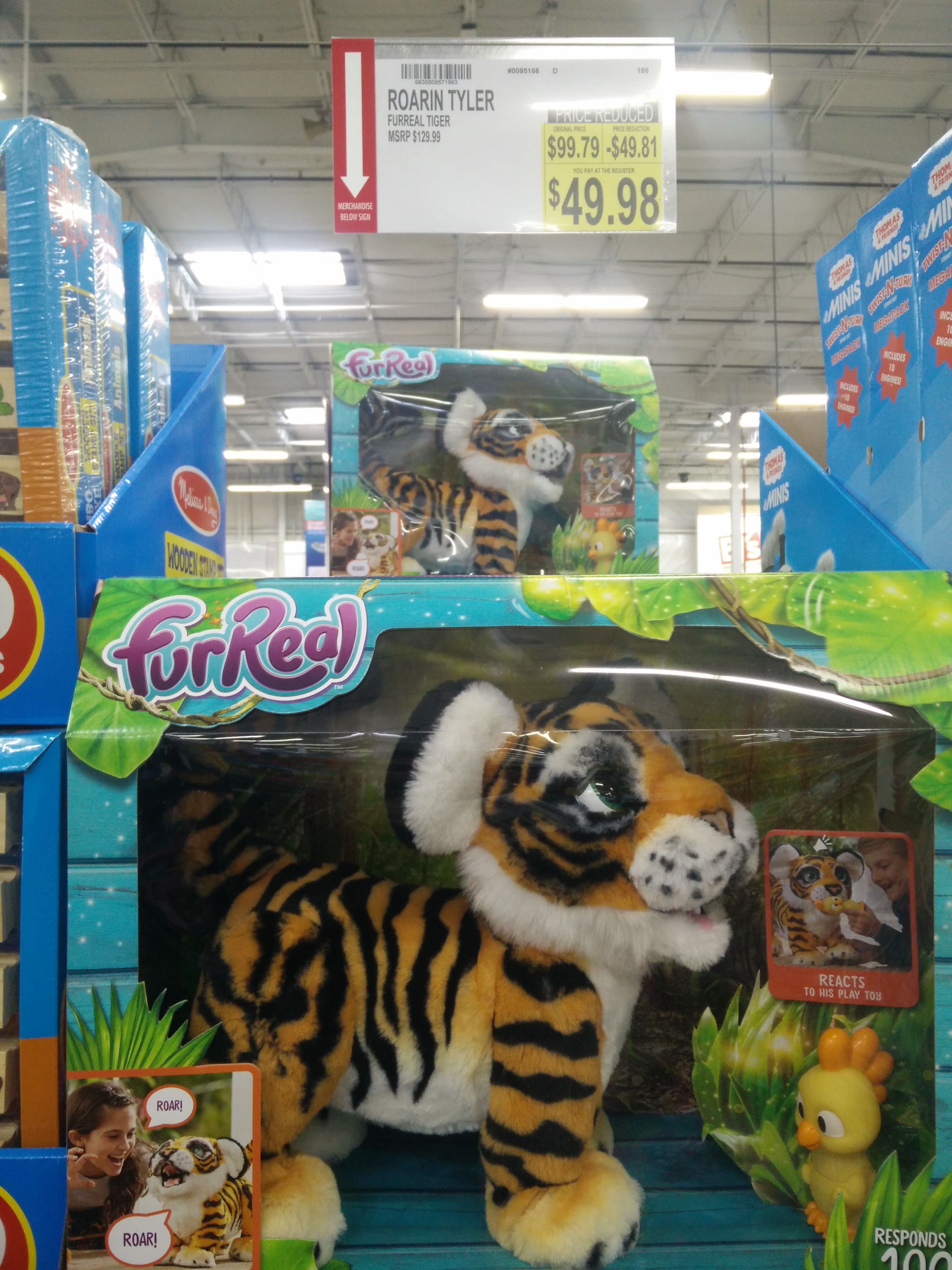 **in-store** FurReal Roarin' Tyler The Playful Tiger @BJs $50