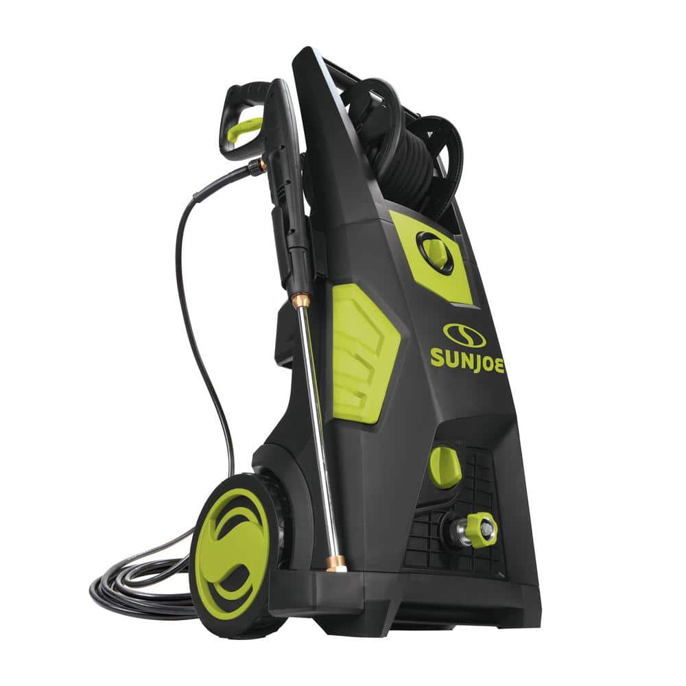 $189 Sun Joe SPX3501 2300 PSI 1.48 GPM Brushless Induction Electric Pressure Washer with Hose Reel