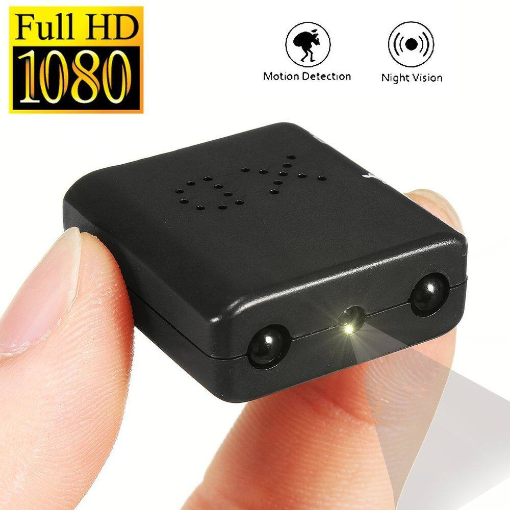 1080P Camera Ultra Mini DVR Camcorder Infrared IR Night Vision Motion Detection 20% off free shipping $28.09