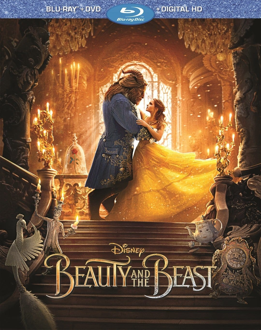 Beauty and the Beast 2017 Blu-ray + DVD + Digital UV Copy $14.93 Prime Exclusive