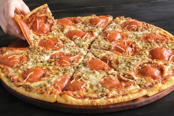 Extra Large New York Giant Pepperoni & Ground Sausage @ Papa Murphy's  (YMMV, select locations only) $8