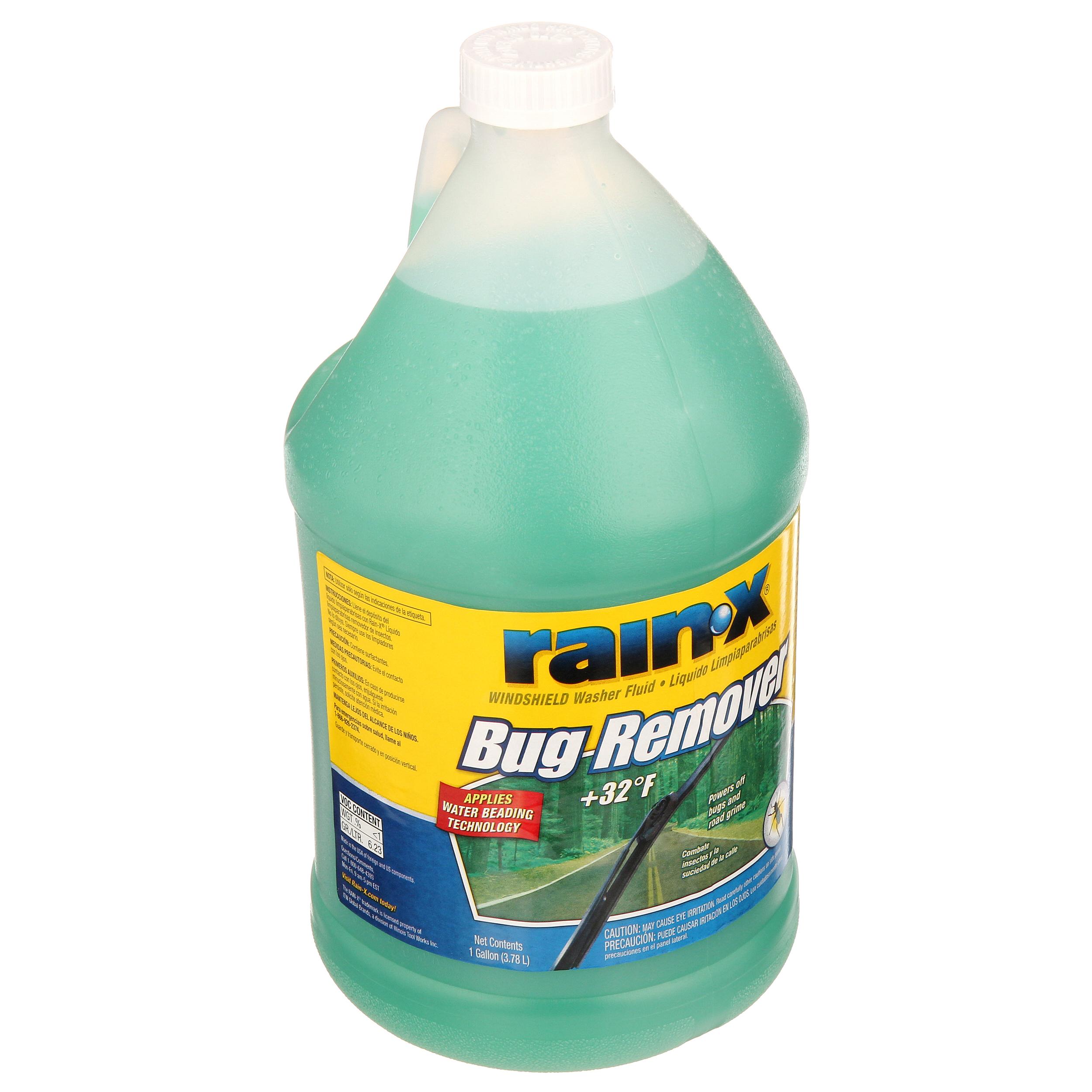 Rain X Bug Remover Windshield Washer Fluid YMMV $0.74