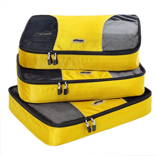 eBags Large Packing Cubes - 3pc Set $17.49 + tax FS w/shoprunner or $49+