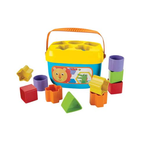 Fisher-Price Baby's First Blocks + tax and shipping (free store pick-up) $5.75
