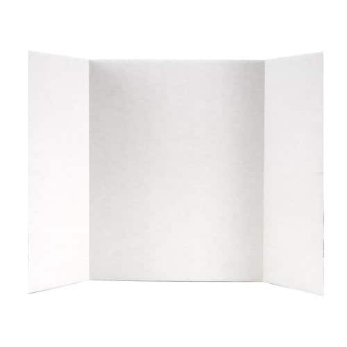 Amazon add-on item: Elmers Tri-Fold Display Board, 14 X 22-Inch, White [14 L x 22 W in] $1