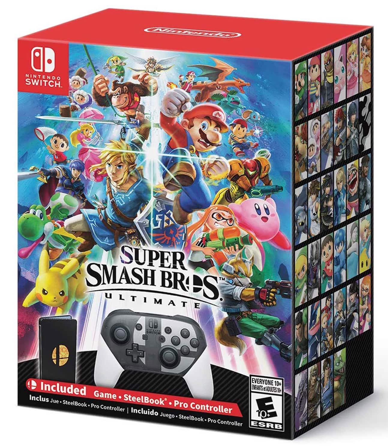 Super Smash Bros. Ultimate Special Edition - Nintendo Switch - Target B&M YMMV $139.99