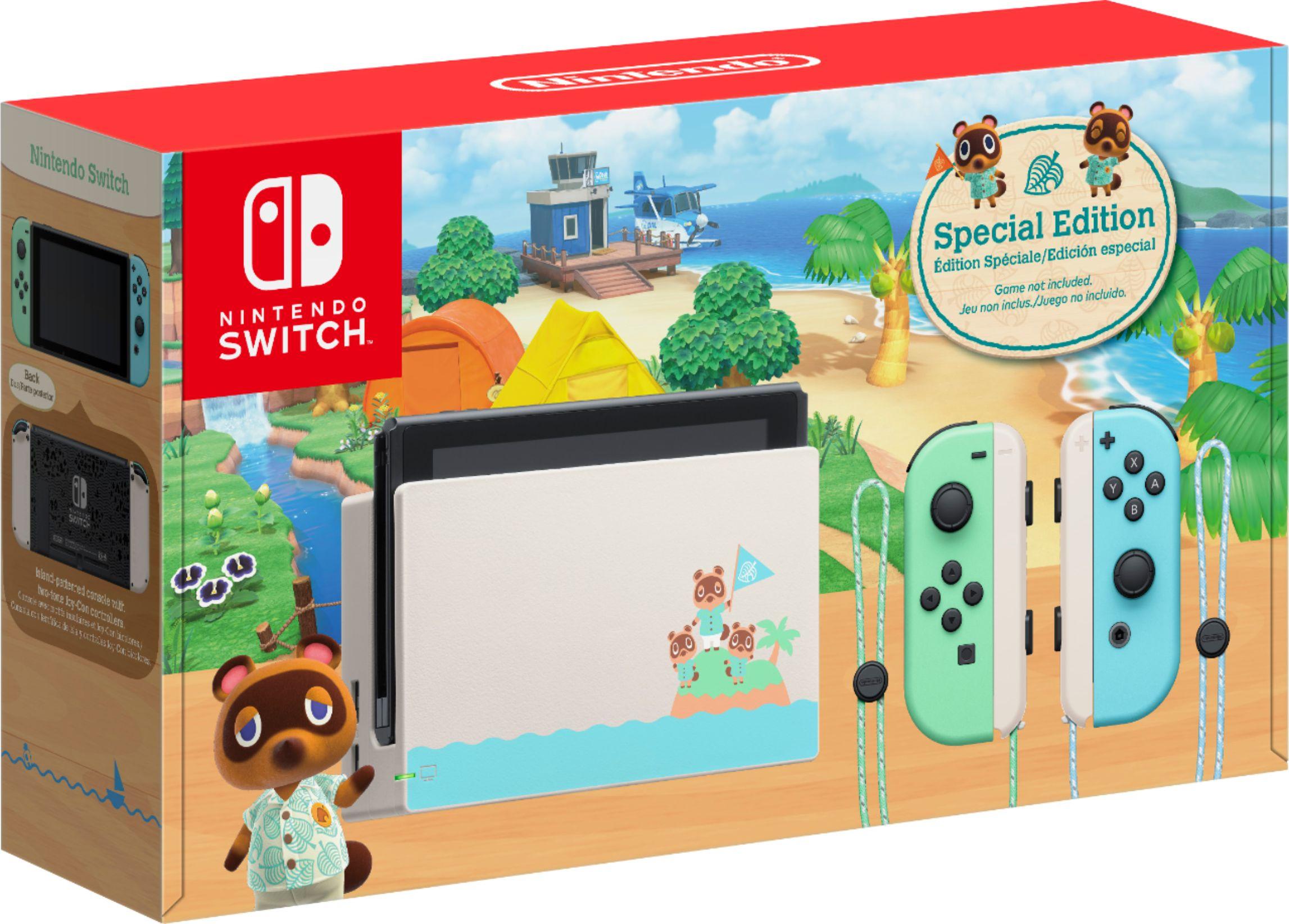 Animal Crossing Nintendo Switch console (refurbished YMMV) $269.99