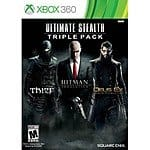 Ultimate Stealth Triple Pack Xbox 360 Game - $15 Best Buy $12 w/GCU
