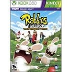 Xbox 360 Games: Rabbids Invasion: The Interactive TV Show  $5 & More + Free Store Pickup