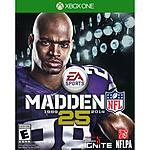 Madden NFL 25 Xbox One - Walmart - $8 Free Store Pickup