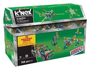 705-Piece K'Nex 70 Model Building Set $12