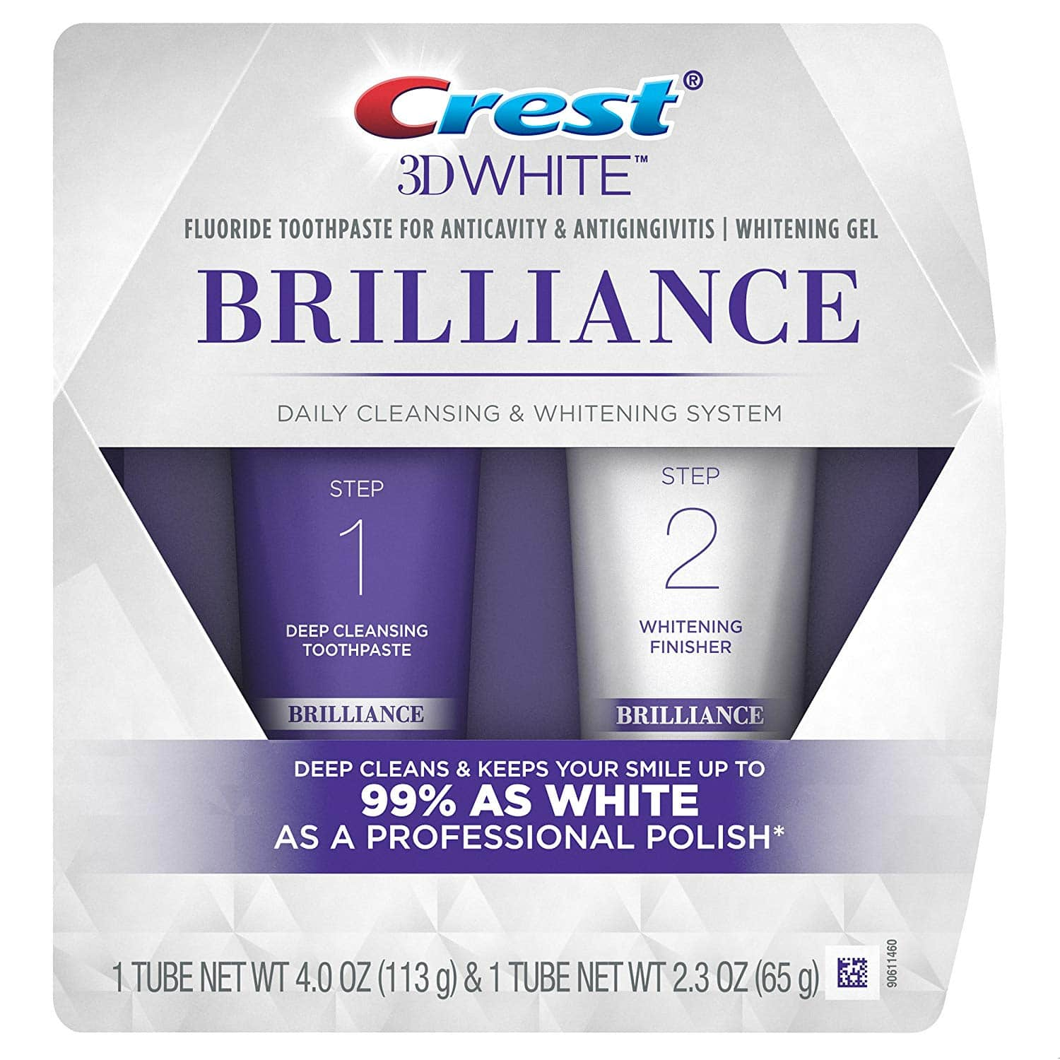 Add-on Items: Crest 3D White Whitening Therapy Enamel Care Toothpaste $3.88 & Whitening Gel System $7.96