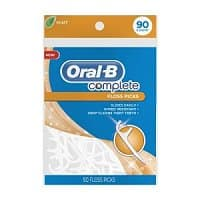 Amazon Deal: Oral-B Complete Floss Picks Mint 90 Count $1.89 [or less] + FS w/SS