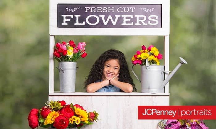JCPenney Portraits - Groupon - Photograph Session with Digital Image and 4 Prints of One Pose: One 8x10, Two 5x7, Eight wallets, and One Enhanced Print $19.99