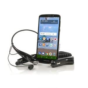 eBay - Tracfone Moto e5 Cell Phone + BT headphone + 1 Year of Service with 1500 MIN/1500 Text/1500MB $50