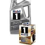 Mobil 1 synthetic oil 5 qt jug and Mobil 1 filter for $13.99 at MEIJER after MIR until 9/12