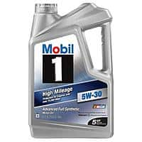 Amazon Deal: 5qt. Mobil 1  Full Synthetic Motor Oil $12 after $12 Rebate