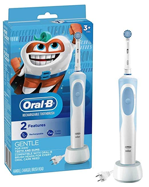 Oral-b Kids Electric Toothbrush - Amazon - $21.80 AC - FSSS or with Prime