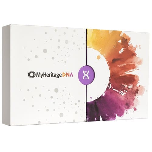 MyHeritage DNA Test Kit - Ancestry & Ethnicity Genetic Testing: Health & Personal Care $57