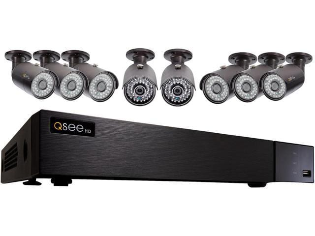Q-See 4MP Resolution & 4K Output Surveillance Security Camera System: 8Ch. Analog HD DVR 8 x 4MP Bullet Camera Q-See 4MP Resolution & 4K Output Surveillance Secur $269.99