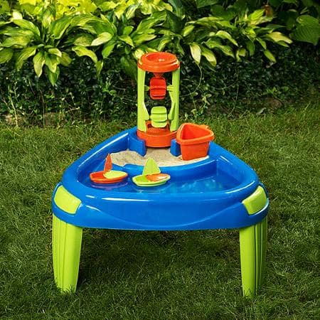 Sand & Water Wheel Play Table Big Lots  $20 B&M or $2.99 shipping