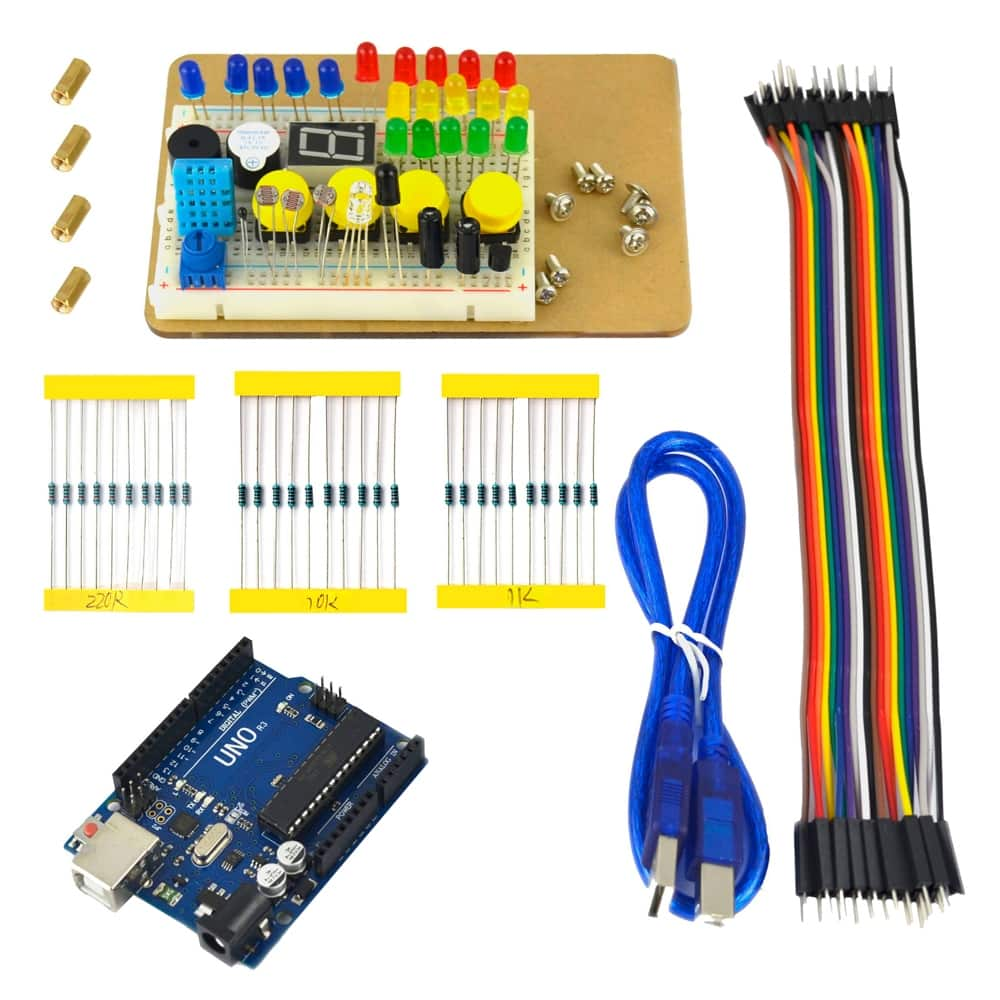 Inland UNO r3 learning kit (Arduino Clone)Microcenter B&M- $9.99