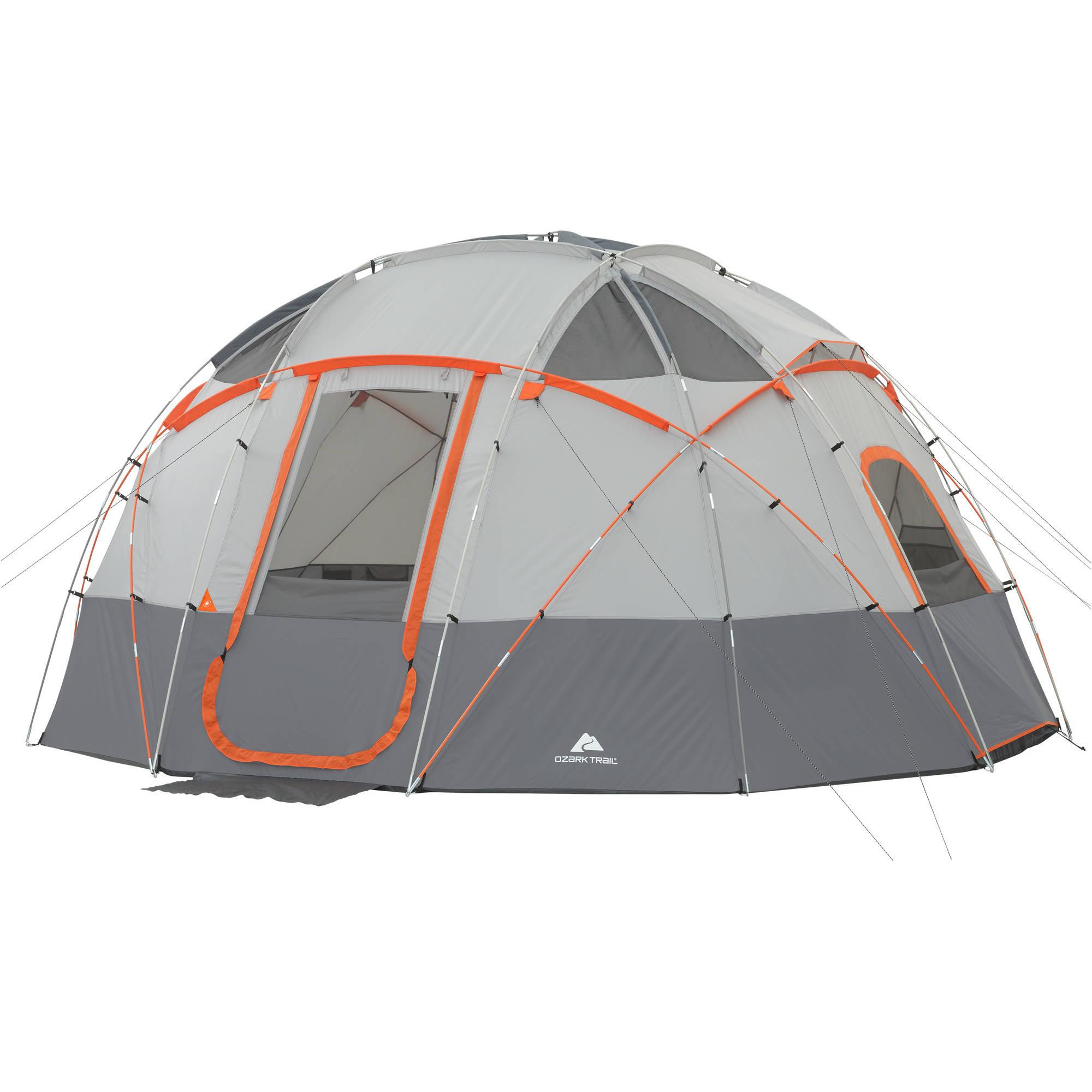 Ozark Trail 12 Person Sphere Tent $80 @ Walmart + Free Shipping