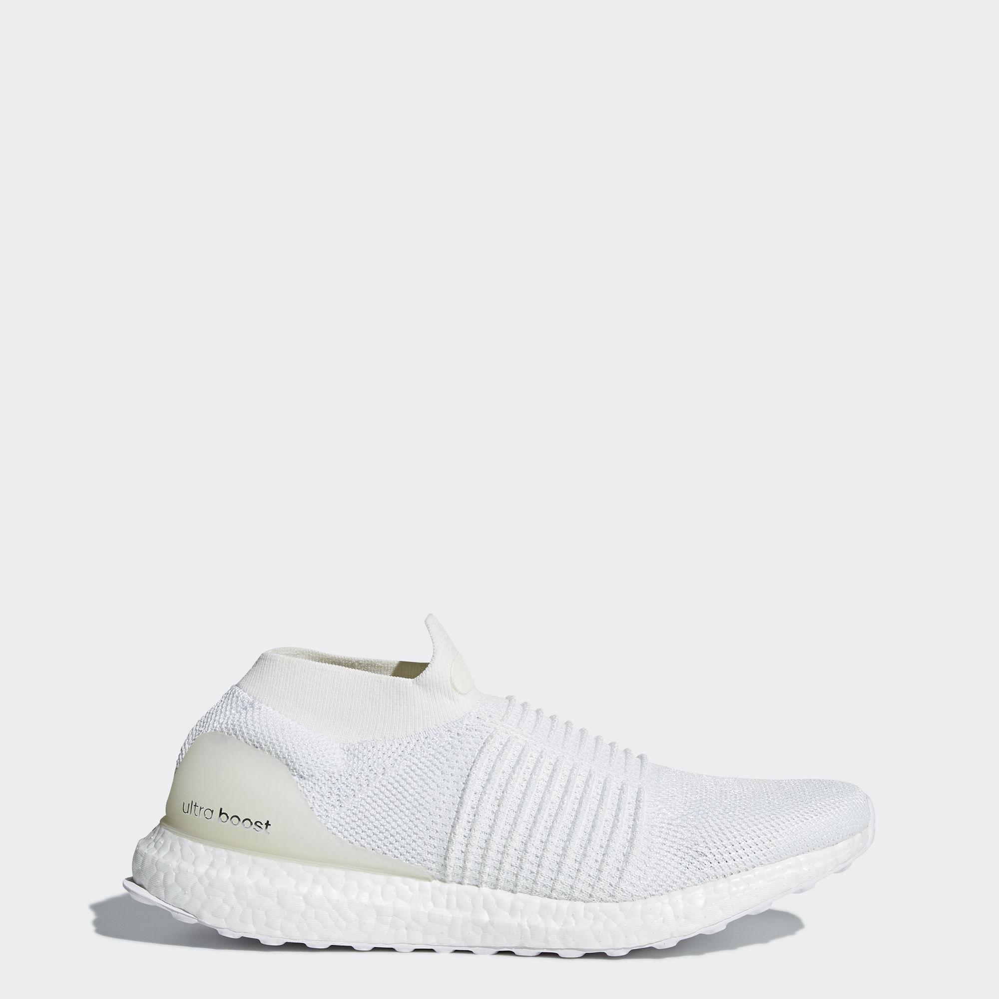 7e93c3495 adidas Men s Ultraboost Laceless Running Shoes (White)  80   eBay -  Slickdeals.net