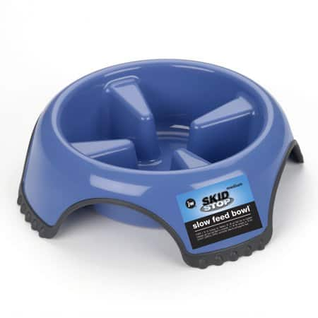 JW Pet Skid Stop Slow Feed Bowl - Medium $3.27 (Add On Item)