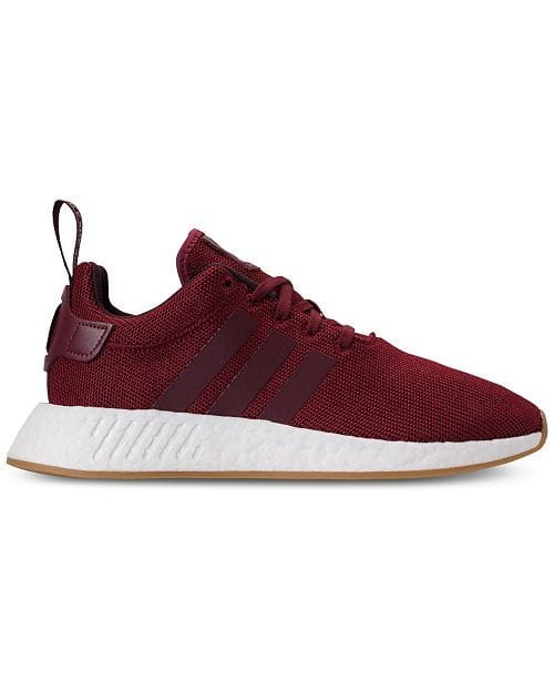 finest selection 01e97 0d0d0 adidas Men s NMD R2 Casual Sneakers (Burgundy)  55 + Free Shipping