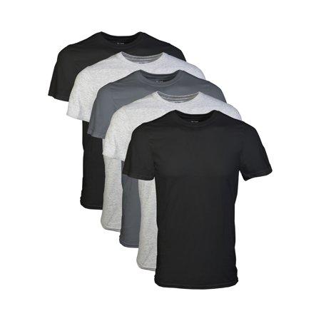 5-Pack Gildan Mens Short Sleeve Crew T-Shirt Assorted (S,M Colors Vary) $10.50 + Free Store Pickup