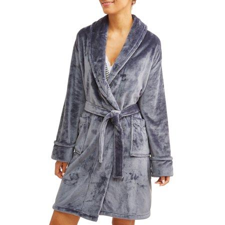 Mosaic Spa Women's Velvet Plush Robe (Various Colors) $12 + Free Store Pickup
