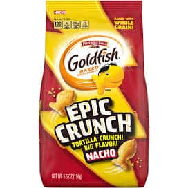 5.5oz Goldfish Epic Crunch $1.20 (Nacho, Ranch, Honey BBQ) In Store - Target Cartwheel