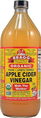 32oz Bragg's Organic Apple Cider Vinegar $4 or $3.40 + Free Shipping AC