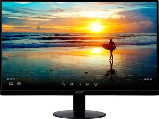 """Acer 23.8"""" IPS 1080p Full HD LED Monitor $100 + Free Shipping"""