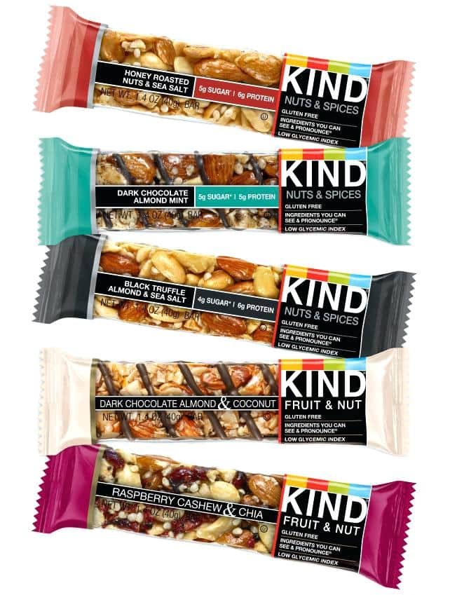 1.4oz KIND Bars (Various Flavors) $0.25 In Store @ Walmart YMMV