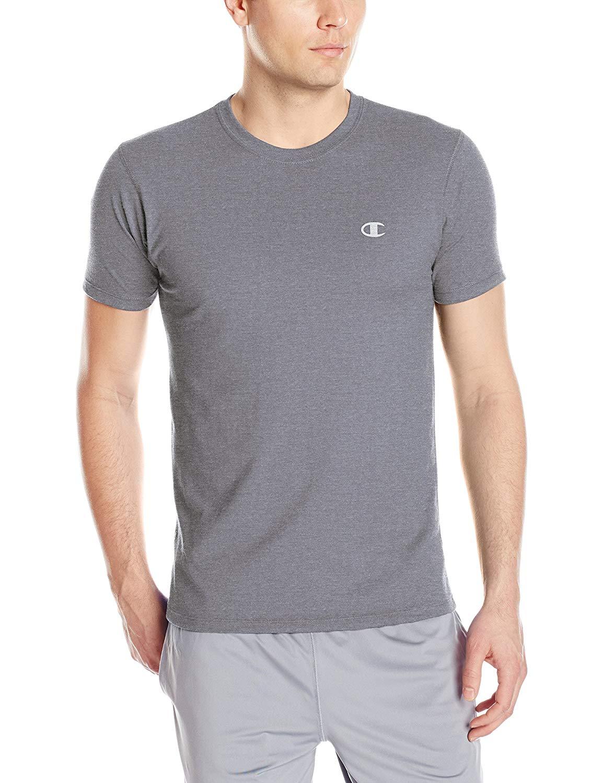 172aabdf3604 Champion Men's Double Dry Cotton Crew-Neck T-Shirt (L, XL) $4 + Free  Shipping