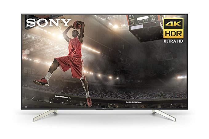 Sony 60-Inch 4K Ultra HD Smart LED TV (2018 Model XBR60X830F) $798 + Free Shipping