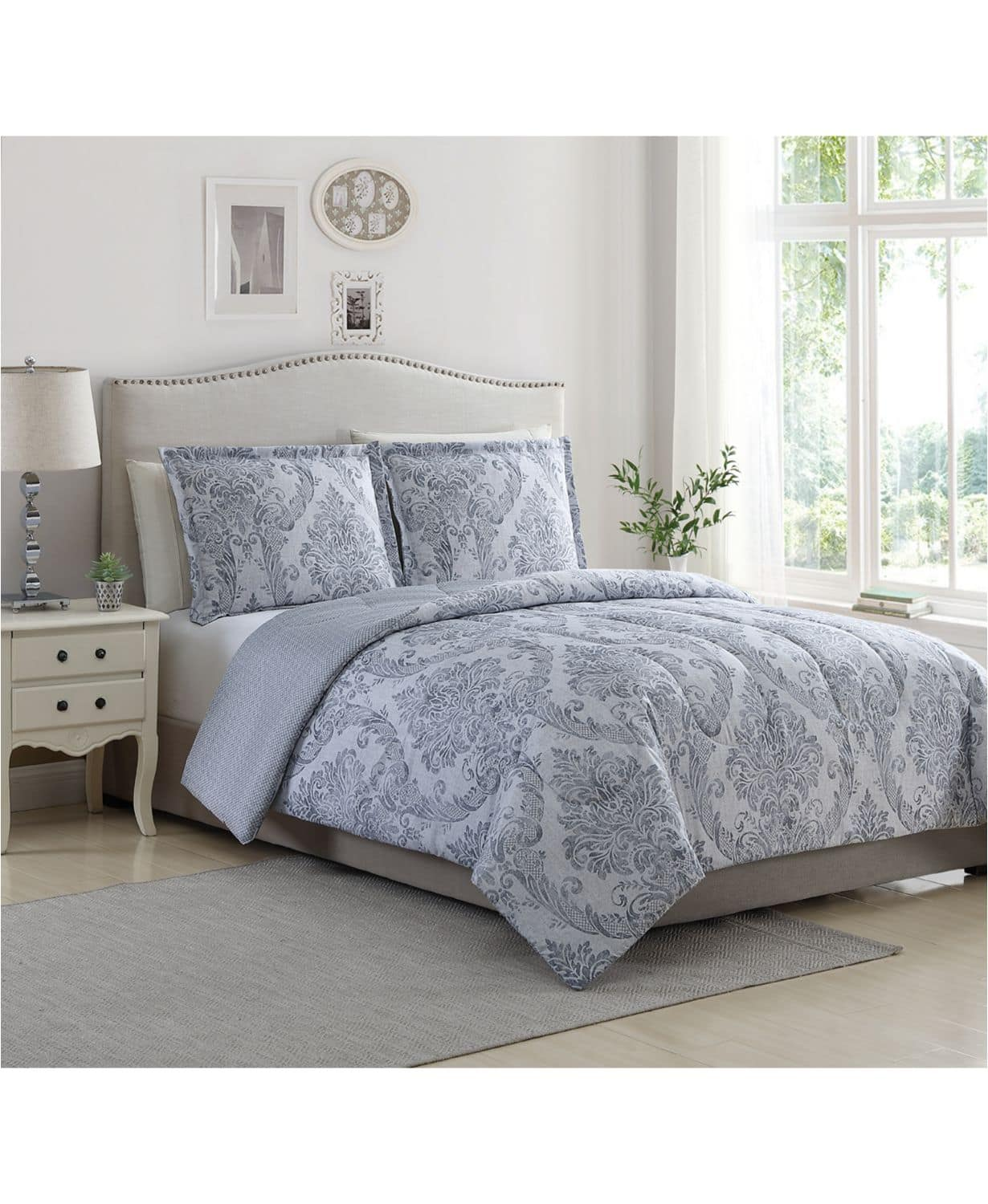 Macy's 3-Piece Comforter Sets (Various Styles) King or Full/Queen $20 + Free Store Pickup