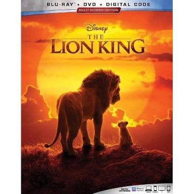 The Lion King 2019 Blu-ray + DVD + Digital Copy (In Store YMMV) $6