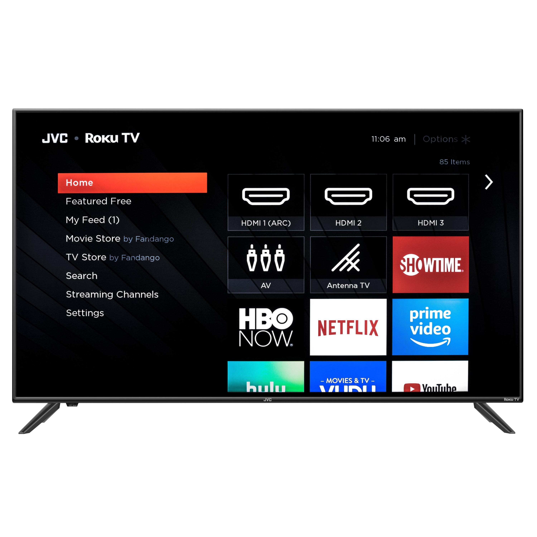 "JVC 55"" 4K UHD HDR Roku Smart LED TV $269 + Free Shipping"