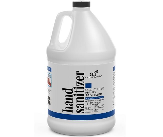 1 Gallon (128 oz) ArtNaturals Unscented Hand Sanitizer Gel $48 + Free Shipping