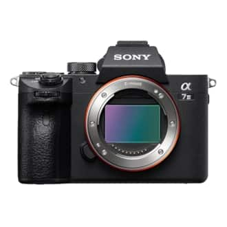 Sony A7III $1,458 with EDU discount at B&H