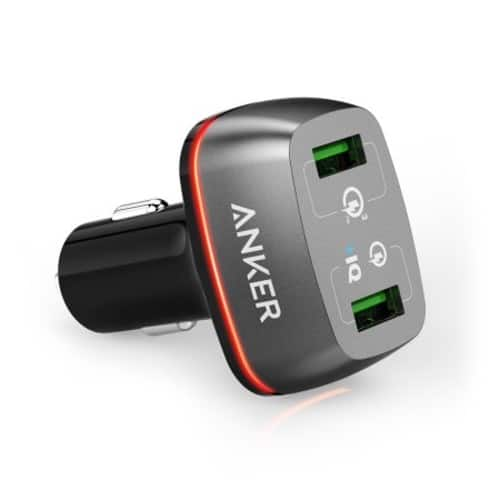 save on anker car charger $14.98