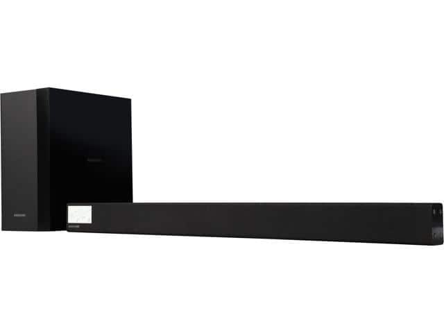 Samsung HW-M360/ZA 200W 2.1 Ch Soundbar with Wireless Subwoofer Samsung HW-M360/ZA 200W 2.1 Ch Soundbar with Wireless Subwoofer $89