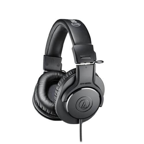 Audio-Technica ATH-M20x Professional Monitor Headphones $39 @ amazon