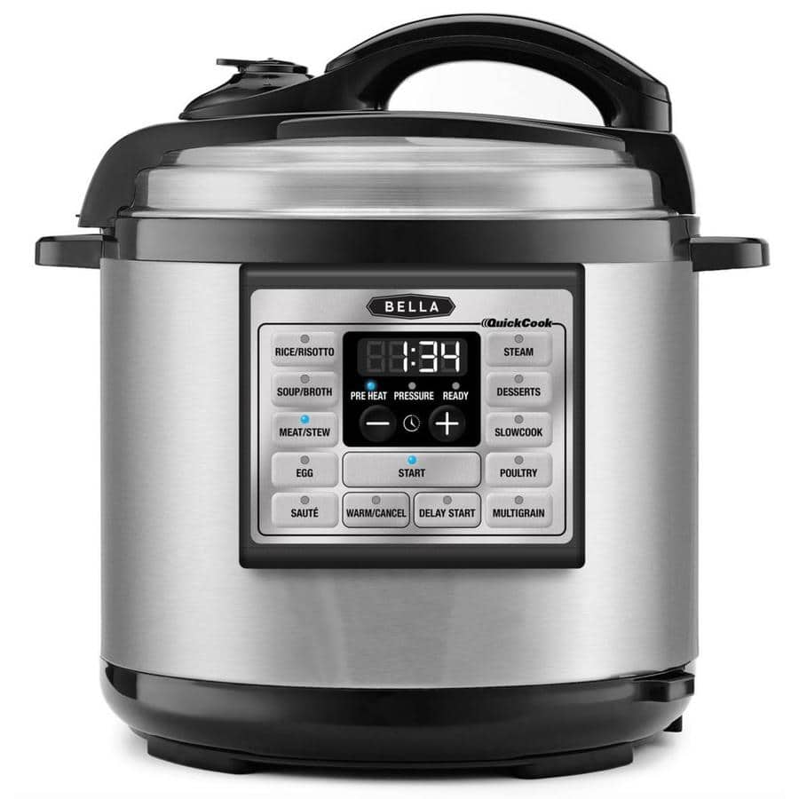 BELLA 8-Quart Programmable Electric Pressure Cooker $49 Free Store Pickup At Lowes YMMV