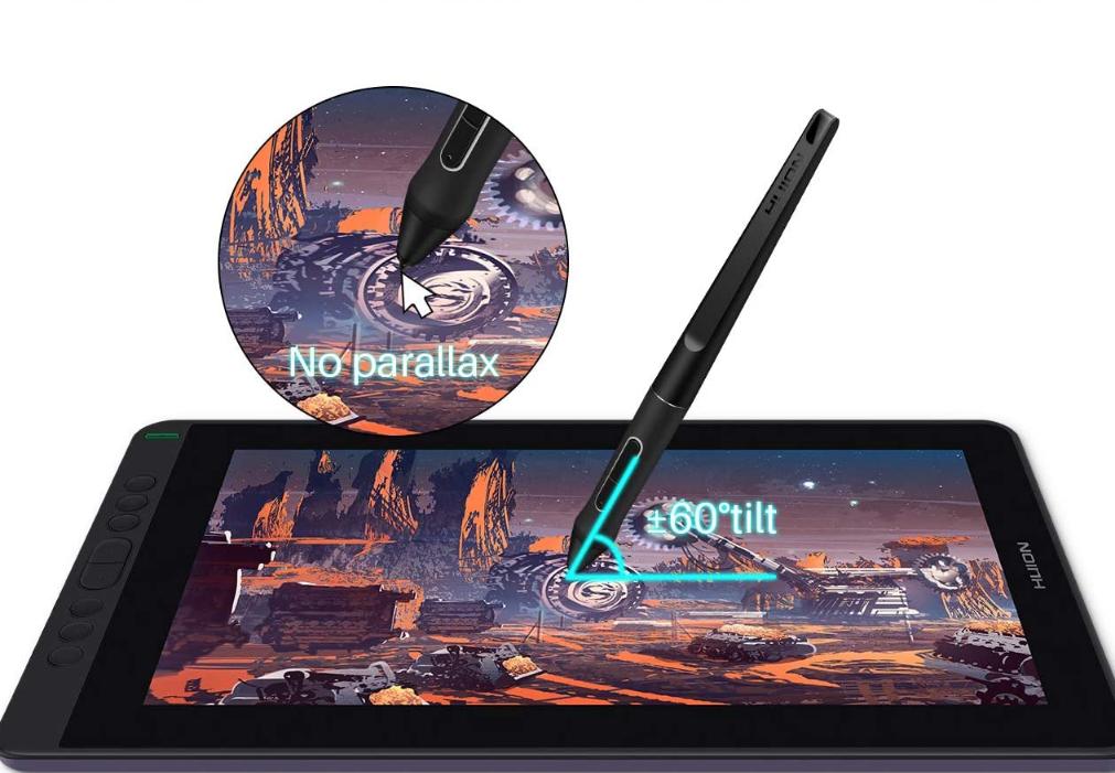 Huion Kamvas 13 Pen Display (Drawing Tablet) w/ PW517 pen - $192+
